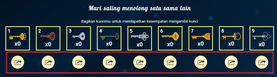 Event Key Master Point Blank